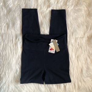 [J. Crew] Navy Blue High Rise Leggings - Size XS